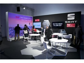 SEAT's stand at Four Years from Now (4YFN)