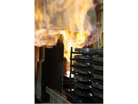 The parts that are manufactured in-house undergo heat treatment to ensure their durability, and can remain up to 14 hour