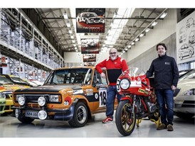 Isidre López and Livio Lodi, the two men responsible for the SEAT and Ducati collections