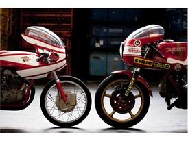 Ducati 125 Desmo and GP and Ducati 900