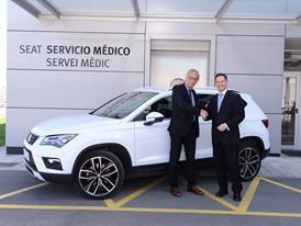 Dr. Bonaventura Clotet, SEAT's new brand ambassador