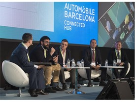 Francisco Requena, SEAT Smart Factory, at the Industry 4.0 Panel
