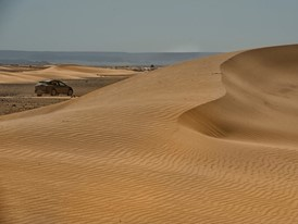 With an extension of 9 million square kilometres, the Sahara desert is the largest in the world