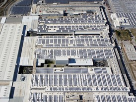 The Martorell plant is equipped with close to 53,000 solar panels
