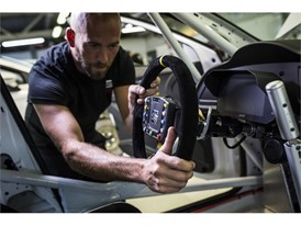 The Leon Cup Racer features a six-speed electronic DSG gearbox with steering wheel-mounted paddle shifters