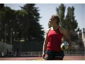 Aroa dreams of becoming a World champion