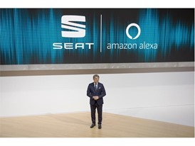 SEAT, first automotive brand in Europe to integrate Amazon Alexa in its vehicles.