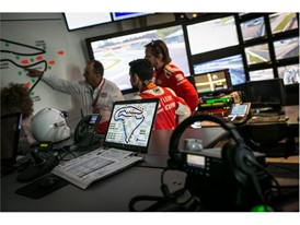 The drivers and race direction ensure safety during the competitions