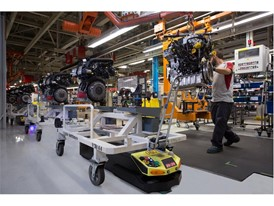 These intelligent robots transport 23,840 parts every day in the SEAT factory