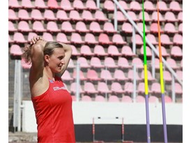 Olympic javelin champion and SEAT ambassador Barbora Špotáková trains in hopes of winning her third gold medal at the 20