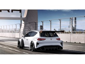 CUPRA e-Racer, the first 100% electric racing touring car in the world