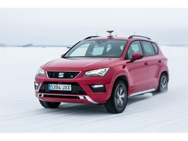 SEAT Ateca FR : Winter test