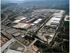 The Martorell factory has grown in size to a total of 2,800,000 m², equivalent to 400 football fields