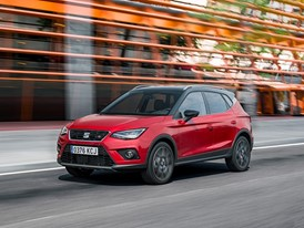 SEAT Arona FR dynamic ¾ front
