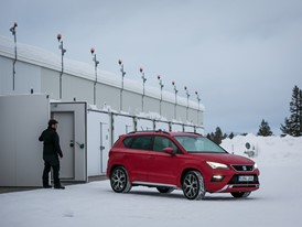 The prototypes are tested in a location near the Arctic Circle under extreme conditions of cold weather