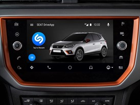SEAT brings Shazam to its customers' fingertips