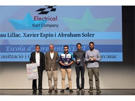 The 'Industry' category prize rewards middle-degree apprentices for the supervised creation of an electric kart