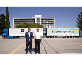 Grupo Sesé managing director Ángel Pueyo(left)& SEAT Vice-president for Production-Logistics Dr.Christian Vollmer(right)