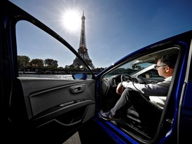 An expert in CNG drives over 1,000 km from Barcelona to Paris in a gas powered car for €45