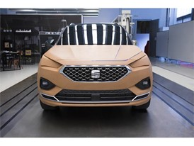 5,000 kilos of clay was used to replicate the SEAT Tarraco