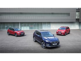 The SEAT Tarraco, together with the Ateca and the Arona, completes the SUV model lineup