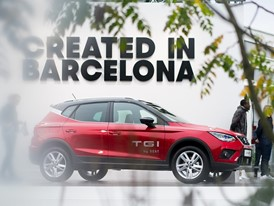The Arona TGI is the first SUV on the market fuelled with compressed natural gas