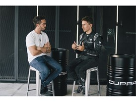 Both team mates recalled their experience at the wheel of the CUPRA TCR