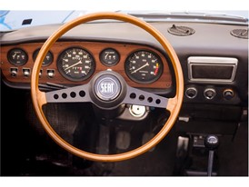 1970 - SEAT 850 Spider steering wheel