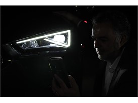 The SEAT Tarraco's lighting systems are developed and verified in the light tunnel