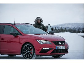 Every year a total of 150 technicians and engineers head to the Arctic Circle to test cars in conditions of extreme cold