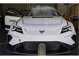 This car has a bespoke cooling system in the radiator that provides cooling in around 20 minutes