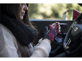Gloves, coats and scarves tend to limit your freedom of movement, and therefore are a safety risk
