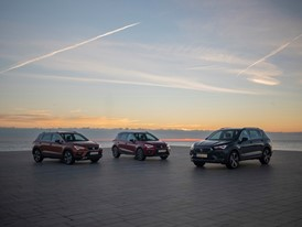 SEAT's three SUVs, on the road together for the first time