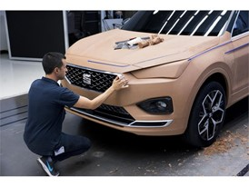The dimensions of the SEAT Tarraco are a challenge for the team of model makers