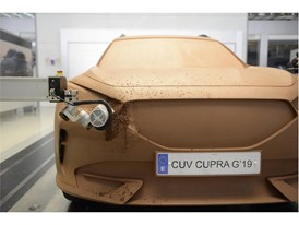 The team of model makers uses 700 kilos of clay to finally turn the design of the CUPRA Formentor into a physical life s