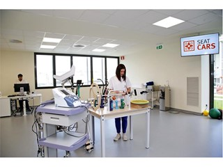 Physiotherapy facilities at SEAT CARS