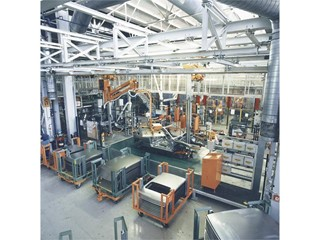View of the Martorell factory in the 90s