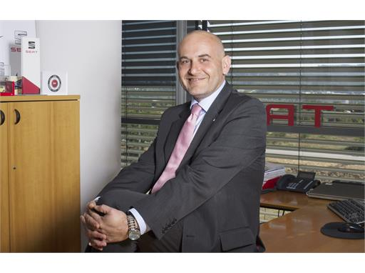 Christian Stein, new Director of Communications at SEAT