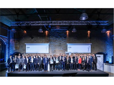 Image of all the winners at the Manufacturing Excellence Awards 2017