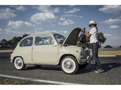 Located at the front, the boot capacity was 68.5 litres, while on the Mii it reaches 238 litres