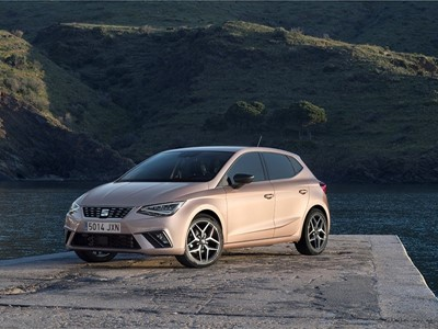 "The SEAT Ibiza wins the ""Excellent Product Design Transportation"" award from the German Design Counc"