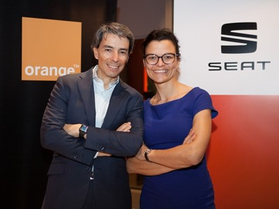 SEAT and Orange Join Forces to Promote the Development and Use of the Connected Car