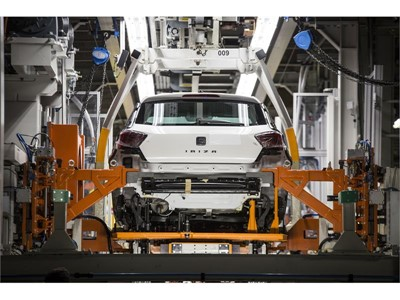 Today's production line of the new SEAT Ibiza