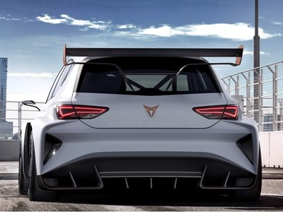 World Premiere Of the Cupra E-racer, the First 100% Electric Racing Touring Car in the World