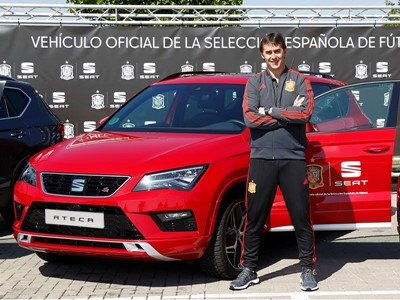 SEAT, new sponsoring partner of the Spanish National Football Team