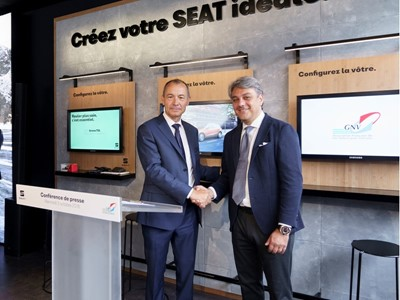 SEAT and AFGNV partner to promote natural gas as a fuel in France