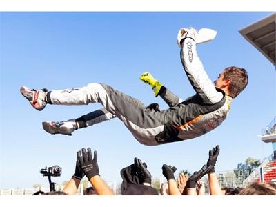 Mikel Azcona, CUPRA pilot, wins the TCR Europe championship