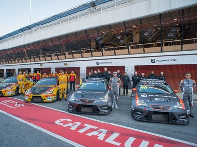 CUPRA powers two teams at the WTCR 2019