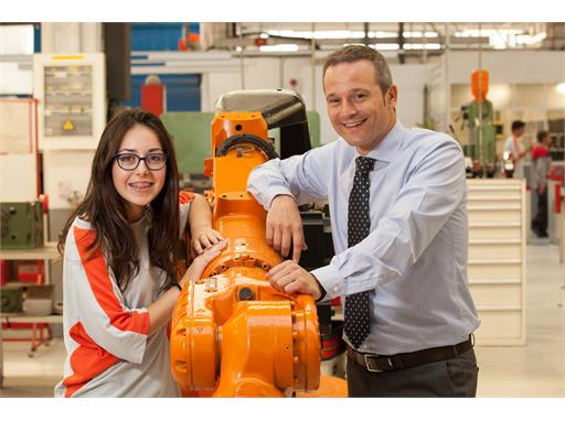 Meritxell Castells and Javier Perez, two generations of students sharing the same ambition  to work at SEAT