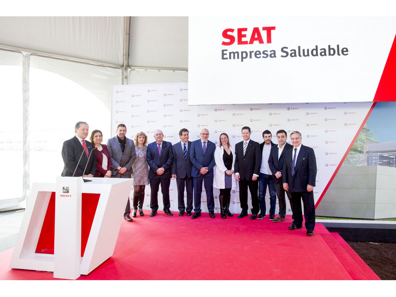 SEAT lays the first stone of the new Health Care and Rehabilitation Centre at the Martorell factory1